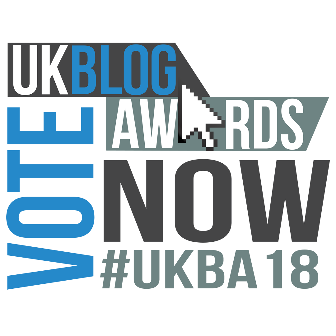 Written Mirror Nominated UK Blog Awards